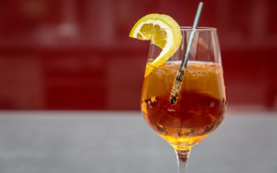 "The ""aperitivo"" a world famous cocktail made in Italy"