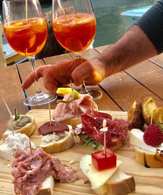 Famous cocktails created in Italy known worldwide & Italian aperitif tradition
