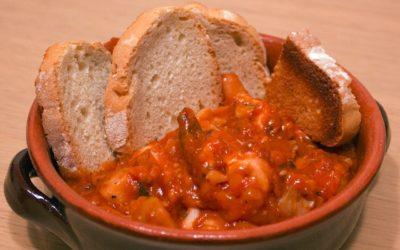 Caciucco, the delicious Tuscan fish stew