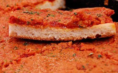 Sfincione, the king of Sicilian street food