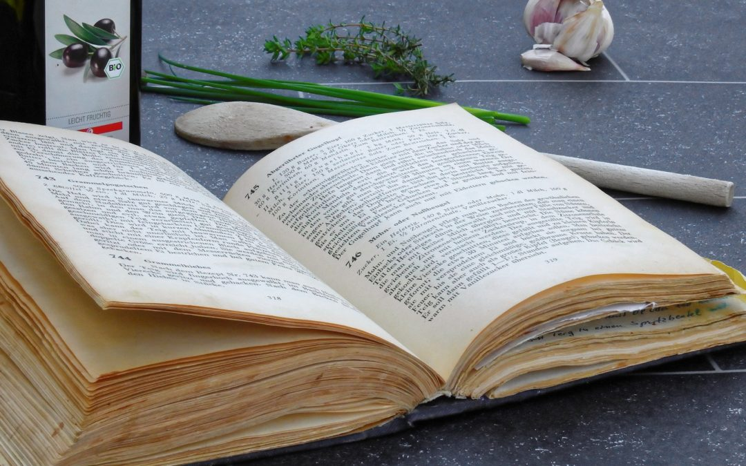 The long journey of cookbooks through different historical times