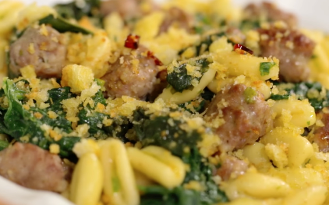 Salsiccia and friarielli, the perfect Italian combo