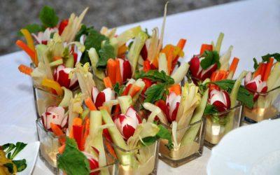 A perfect summer appetizer: pinzimonio