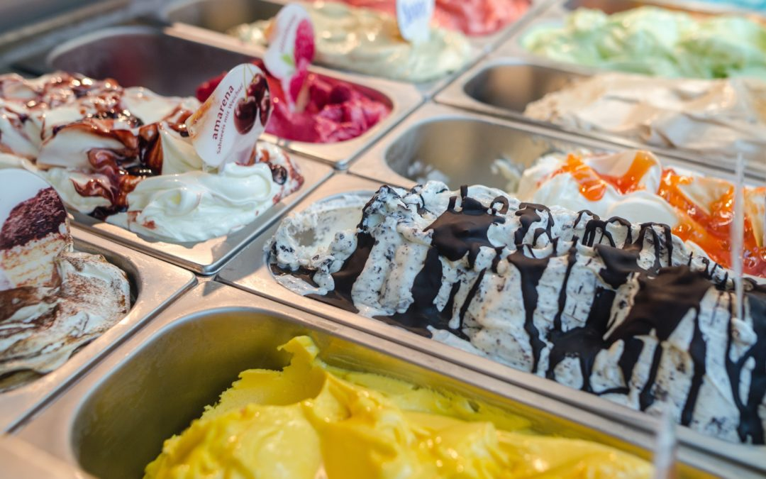 Ice-cream, the first dessert in human history