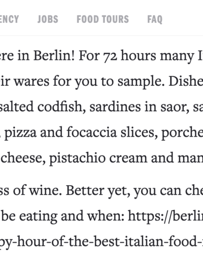 Berlinfoodstories