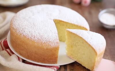 Torta paradiso: a piece of heaven